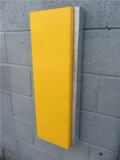Sliding Dock Bumper - Type 3010 (UHMWPE) - 750mm x 260mm x 115mm