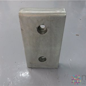 Front Plate with Side Cheeks for Type 1810 Bumpers - 440mm x 250mm x 62mm