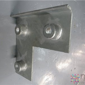 Front Plate for Type 1818 L shaped Bumpers- 440mm x 440mm x 62mm