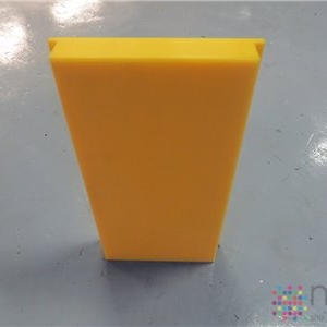 UHMWPE Front Plate - 450mm x 250mm x 50mm