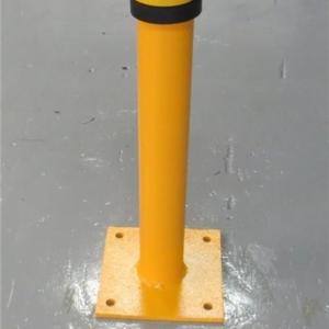 Steel Bollard - Bolt down - 600mm tall x 89mm dia