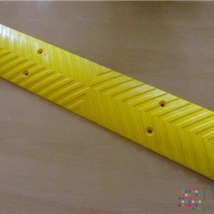 Wall Guard or Rumble Strip Yellow - 500mm x 100mm x 15mm