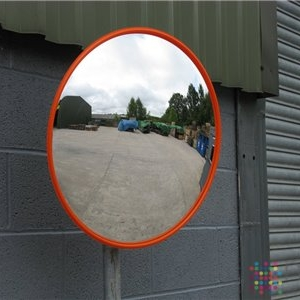 Circular Convex Safety Mirror 600mm Diameter