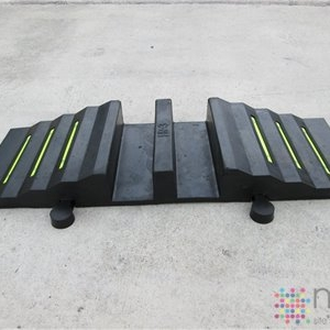 2 Channel Hose Ramp - Suits Fire Brigade 2.5 inch lay flat hose