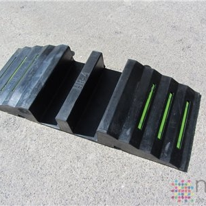 2 Channel Hose Ramp - 2 x 100mm hose/cable