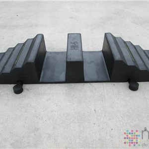 2 Channel Hose Ramp - 2 x 125mm hose/cable
