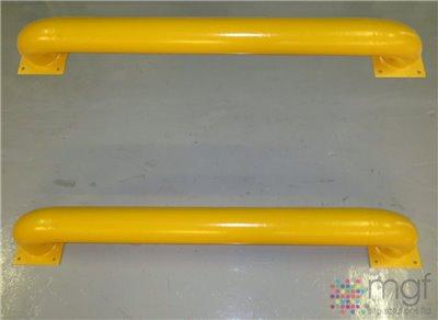 Loading Bay Wheel Guides - Straight - 2085mm x 250mm x 365mm