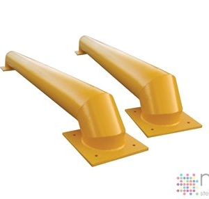 Loading Bay Wheel Guides - Low Profile - Straight - 2070mm x 250mm x 200mm