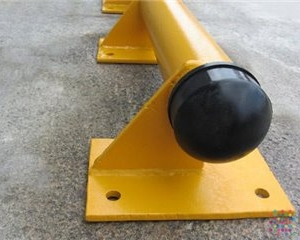Tubular Steel Kerb Vehicle Stopper - 2500mm x 170 mm