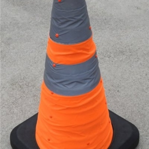 Collapsible Traffic Cone - 690mm high