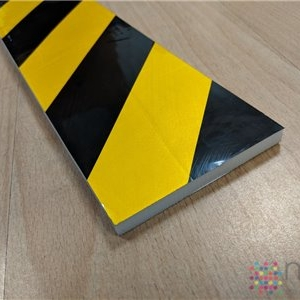 Flat Foam Edge Impact Protector (with adhesive tape) - 500 x 100 x 10mm