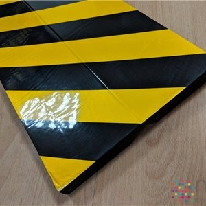 Right Angled Foam Edge Impact Protector (with adhesive tape) - 500 x 250 x 25mm