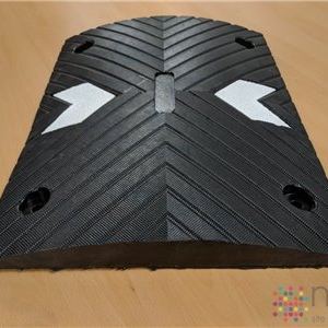 Modular Speed Bump - Black - 500mm x 400mm x 50mm