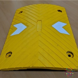 Modular Speed Bump - Yellow - 500mm x 400mm x 50mm