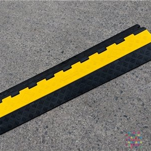 2 Channel Cable Cover (Hose Ramp)  with Lid